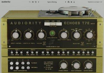Audiority Echoes T7E MKII v2.0 VST VST3 AU AAX MAC/WiN screenshot