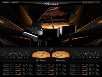Muze Pianos v1.2 KONTAKT screenshot