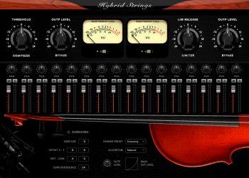 Muze Hybrid Strings KONTAKT screenshot