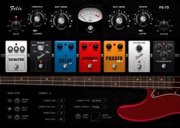 Muze Bass Guitar KONTAKT screenshot