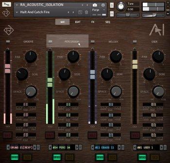 Rigid Audio Acoustic Isolation KONTAKT screenshot
