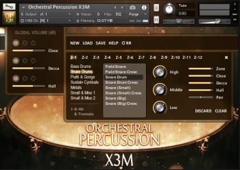 Strezov Sampling Orchestral Percussion X3M KONTAKT screenshot