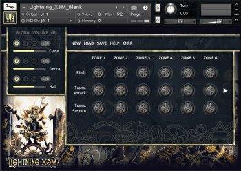 Strezov Sampling Lightning X3M KONTAKT screenshot