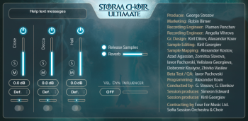 Strezov Sampling Storm Choir Ultimate KONTAKT screenshot