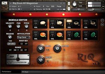 Soundiron Riq Drum v2.0 KONTAKT screenshot