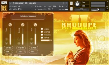 Strezov Sampling RHODOPE 2 Ethnic Bulgarian Choir KONTAKT (Player Edition) screenshot