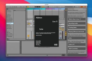Ableton Live 11 Suite v11.0 macOS screenshot